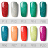 ROSALIND Nails Gel Polish Lucky Hybrid Varnish Set rainbow 7ML Semi Permanent Primer Base for Nail Art Poly UV Gel Nail Polish 2