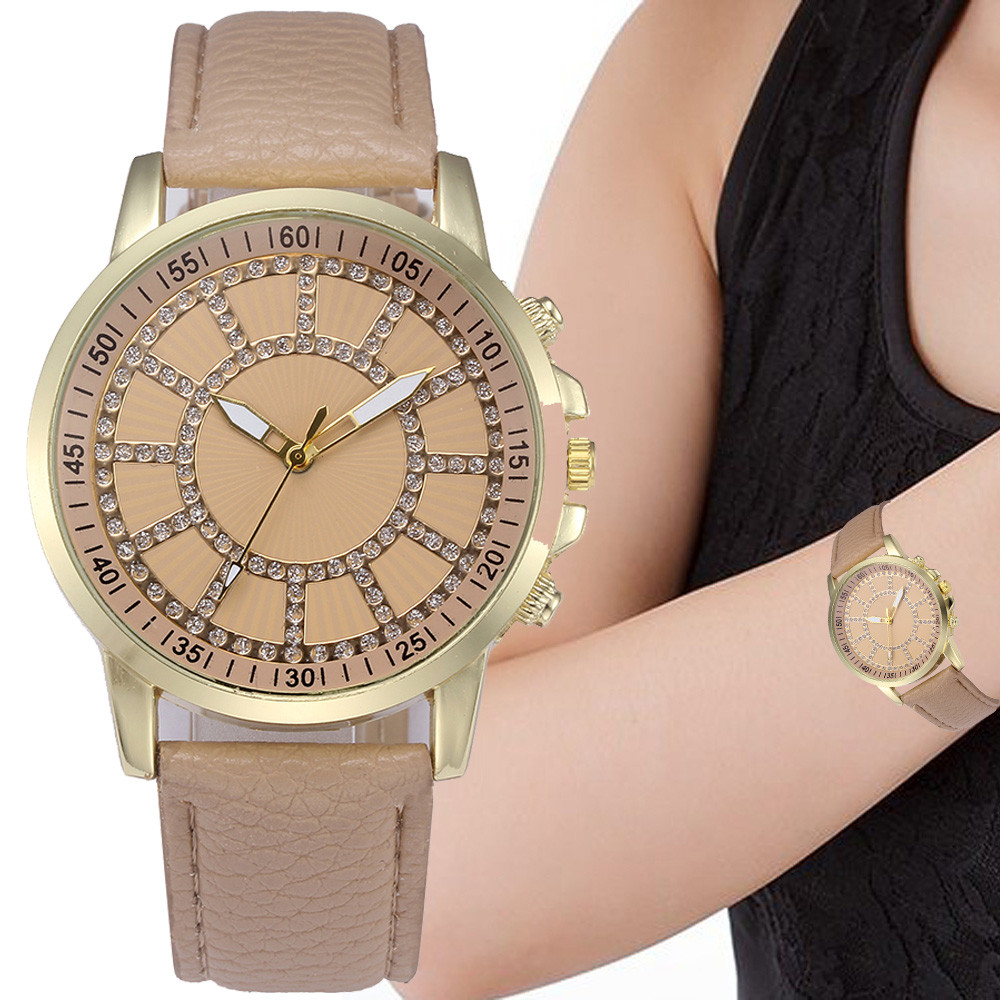 2018 Women Ladies Retro Digital Dial Leather Band Quartz Analog Sport Casual Wrist Watch Watches Gifts relogio feminino F80 women lady dress watch retro digital dial leather band quartz analog wrist watch watches for dropshipping
