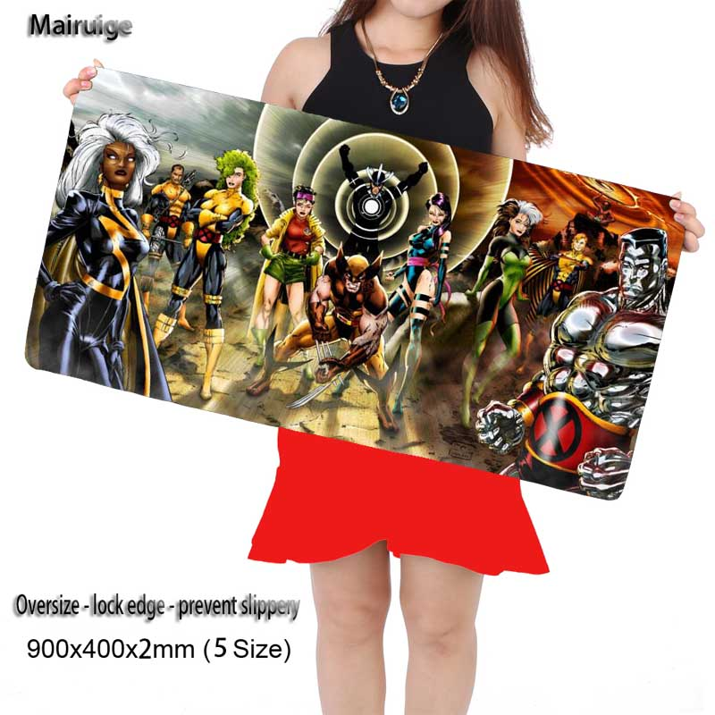 Mairuige Movie symbol of hope Anime Mouse Pad pad to Mouse Notbook Computer Mousepad Overlock Edge Big Gaming Pad