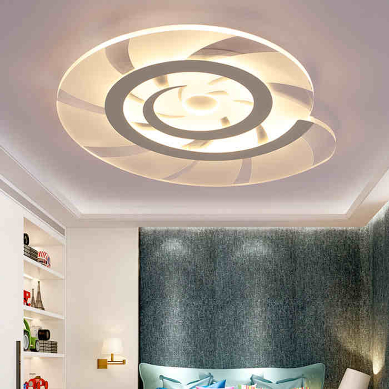 Modern LED Ceiling Lights Conch Shape Children lamp Acrylic Lampshade ceiling Fixtures Children Lights for bedroom Dimmable LED vemma acrylic minimalist modern led ceiling lamps kitchen bathroom bedroom balcony corridor lamp lighting study
