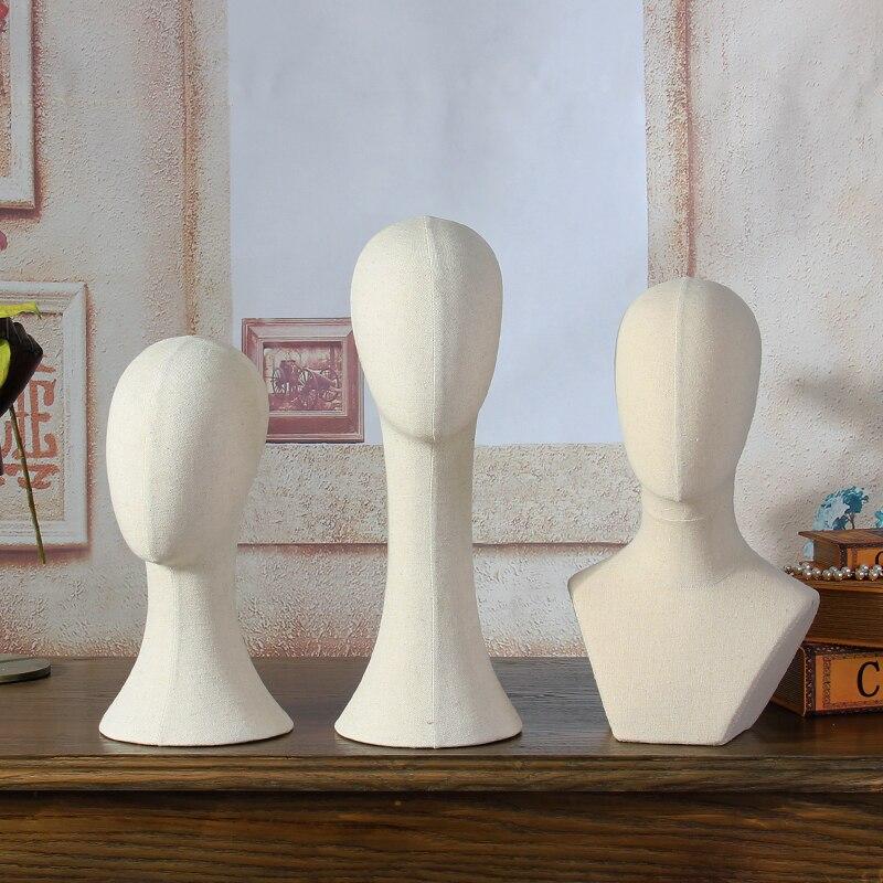 Modische weibliche Stoff Schaufensterpuppe Kopf für Hut Schal - Kunst, Handwerk und Nähen - Foto 2