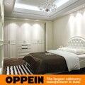 Гуанчжоу мебель фабрика современный распашная дверь дизайн деревянный шкаф YG91514B