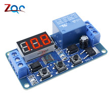 DC 12V LED Digital display Home Automation Delay Relay Trigger Time Circuit Time