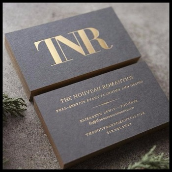 Free shipping Low price custom gold foil stamping cardboard  printing paper business cards 500pcs/lot