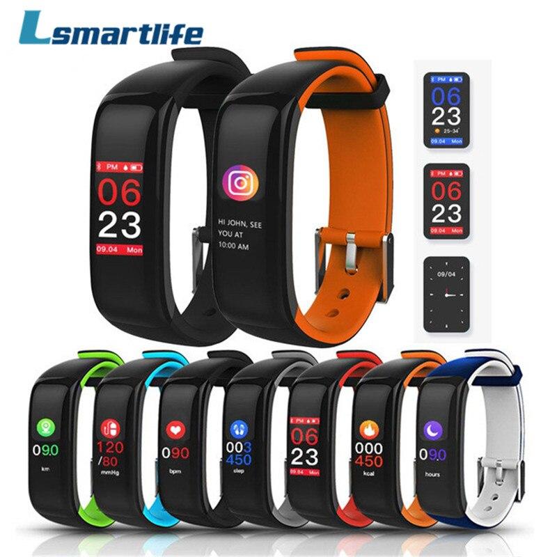 H1 P1 Plus Smart Bracelet Moniteur De Fréquence Cardiaque Fitness tracker Smartband Bracelet Poignet Bande pour IOS Android Téléphone PK Mi bande 2