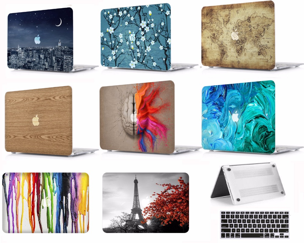 Laptop Protective Hard Shell Case Keyboard Smart Cover Skin Sleeve Set Fit 11 12 13 15