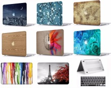 Laptop Protective Hard Shell Case Keyboard Smart Cover Skin Sleeve Set Fit 11 12 13 15Apple Macbook Air Pro Retina Touch Bar TT