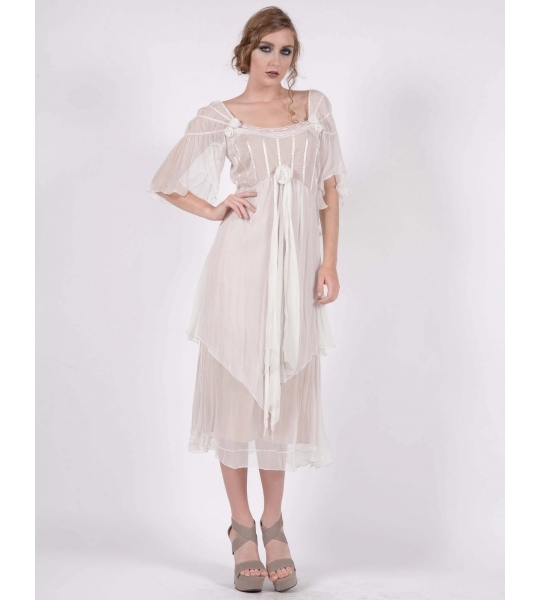 Summer Beach Chiffon Mother Of The Bride Dresses Square Neckline Cap Sleeve Mid Calf