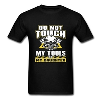 Mechanic Tools Do Not Touch My Tools Daughter Mens Short Sleeve T Shirts Latest T Shirt