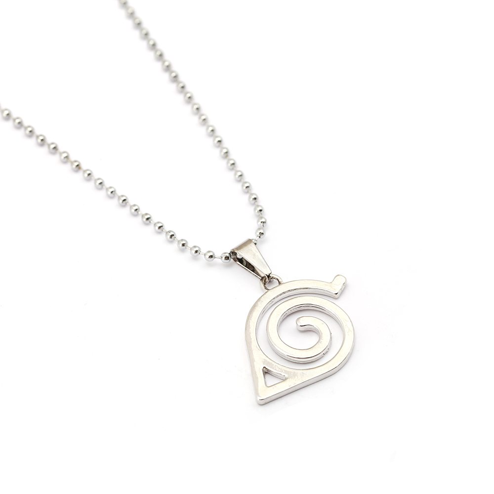 Anime Naruto Necklaces Geometric Star Akatsuki Cloud Pendant Necklace Couple Necklace For Men Women Jewelry Gift