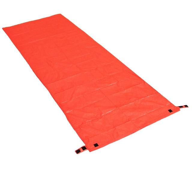 200 * 72cm Mini Ultralight Width Envelope Sleeping Bag For Camping Hiking Climbing Single Sleeping Bag Keep You Warm + Pouch 6