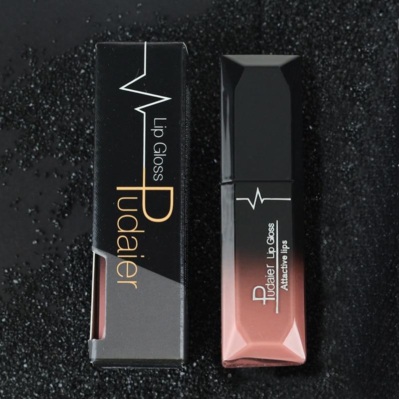 Pudaier 21 Colors Matte & Metalic Matte Liquid Lipstick Lips Make up Nude Lipstick Waterproof Lip Gloss Cosmetics Makeup 6