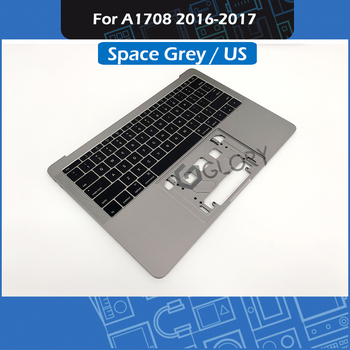 "A1708 Topcase + US Keyboard for MacBook Pro Retina 13"" A1708 Palm rest Top Case Space Grey 2016 2017 Year"