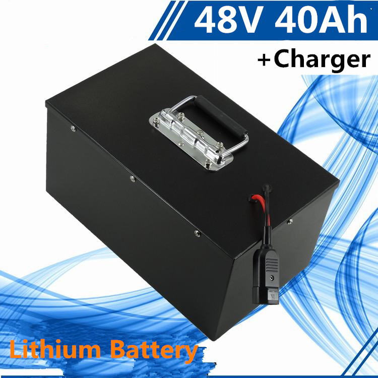 US $735 0 |Rechargeable 48v 40ah lithium ion battery with for e  scooter,electric vehicle motor energy sotrage electric boat electric car-in  Battery