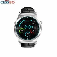 MTK6580 1. 3g Гц 2019 Новые 3G Смарт часы телефон Для мужчин Сталь кожа сенсорный умные часы с Wi Fi совместимый для Android и iOS iPhone