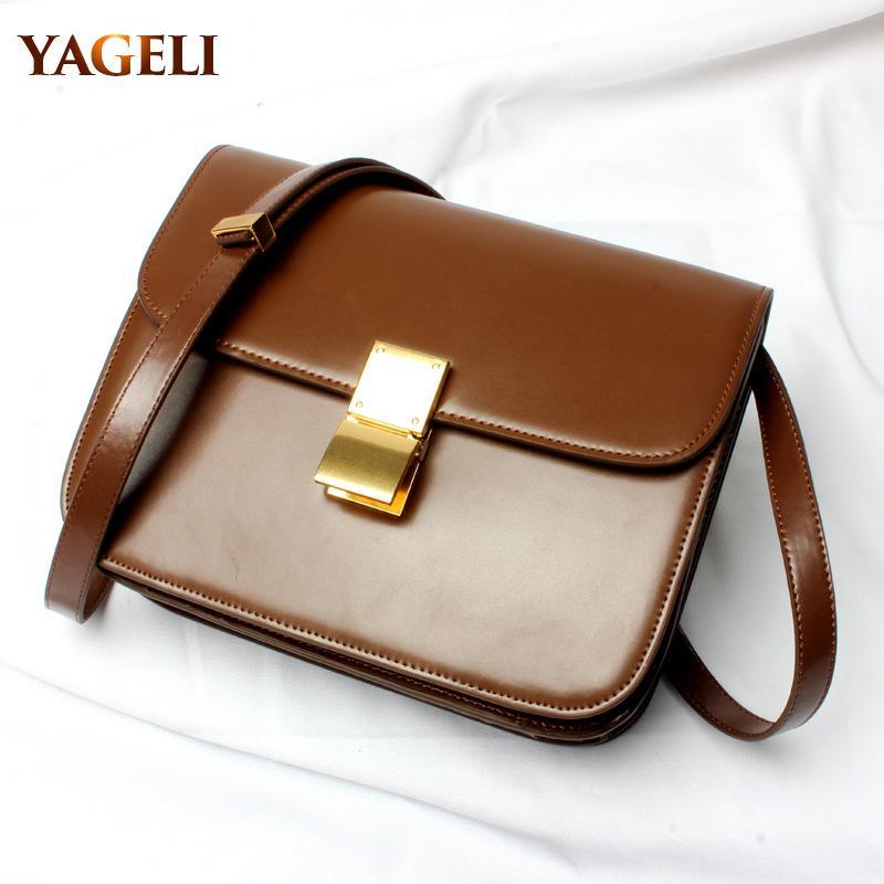 classic box shaped flap ladies shoulder bag brand design PU leather crossbody bags for women clutch fashion women messenger bags