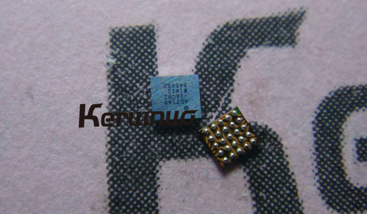 AD7149 fingerprint IC chip U10 For iPhone 7 7P 8 8plus HTU1-D2 on cable...