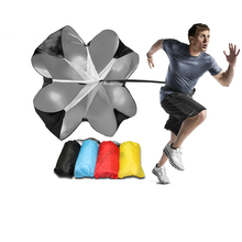 Регулируемая скорость тренировочный парашют сопротивления зонтик для бега Открытый инструмент для упражнений оборудование для футбола тренировочные аксессуары