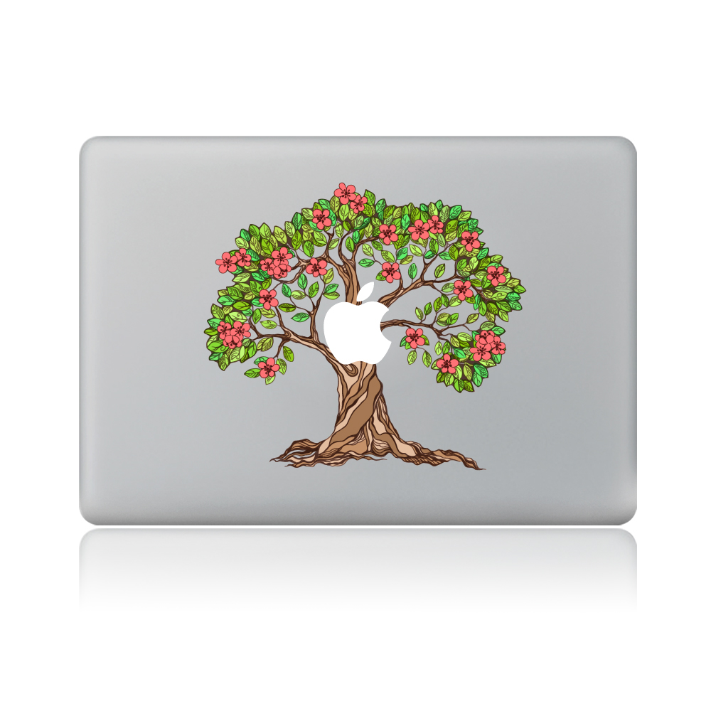 Online get cheap fruit trees books aliexpress alibaba group flowering fruit trees vinyl decal laptop sticker for macbook pro air 13 inch cartoon laptop skin dhlflorist Image collections