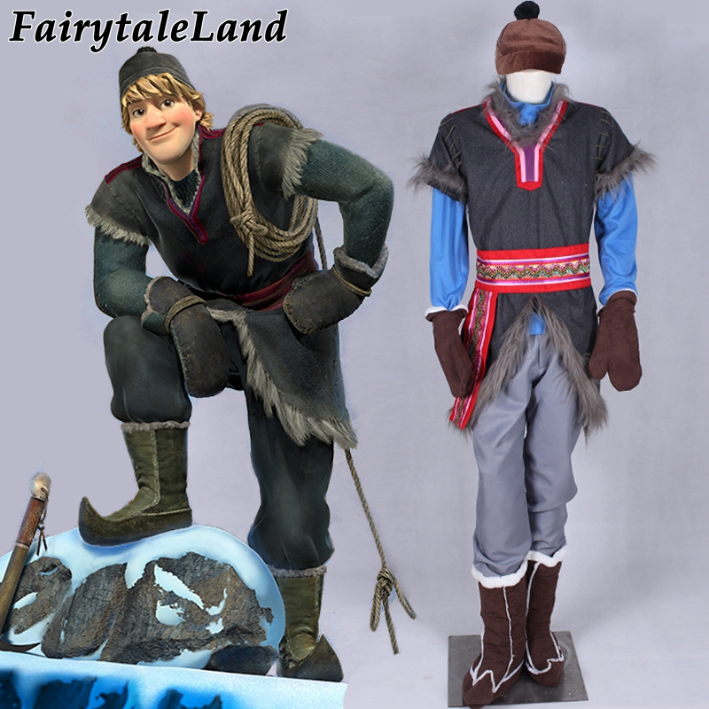 halloween costumes for men adult Disnye snow grow elsa anna Kristoff cosplay costume cartoon cosplay adult