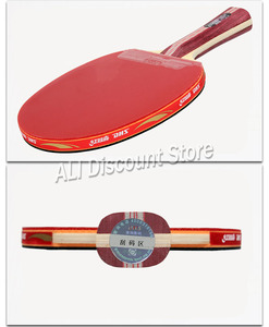 Image 2 - DHS Table Tennis Racket 4002 4006 Ping Pong Paddle Table Tennis Racquets indoo sports Raquete