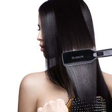 Hair Straightener Flat Iron LED Adjustable Ceramic Tourmaline Plate Styling Tool