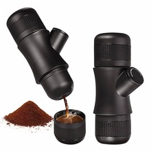 Mini Espresso Coffee Maker Portable Coffee Maker Handheld Manual Pressure Coffee Machine for Home Office Travel Outdoor(China)