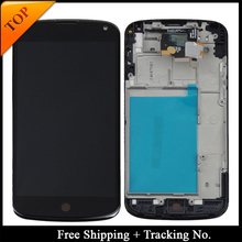 Tracking No. 100% tested lcd display For LG Google Nexus 4 E960 Display LCD Screen Touch Digitizer Assembly