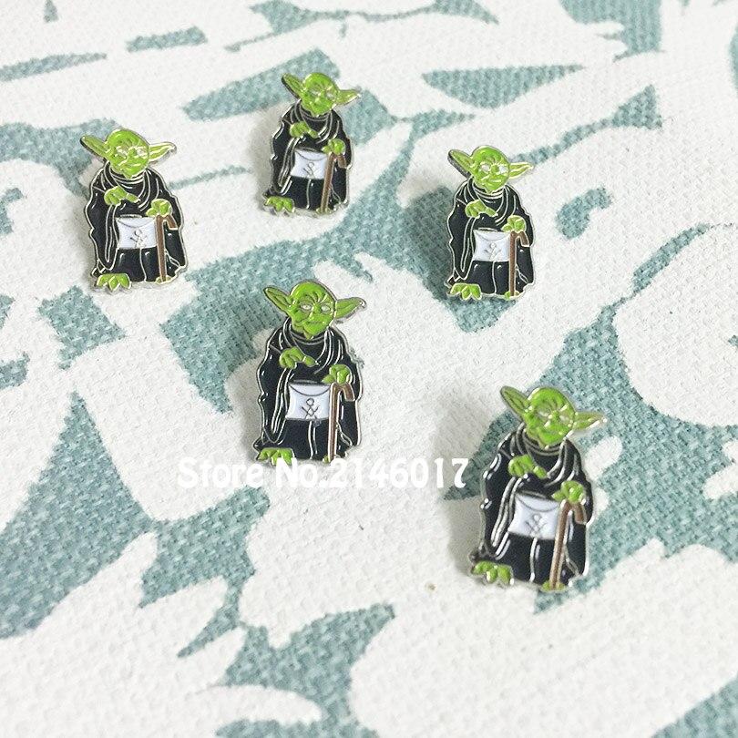 50 sztuk niestandardowe szpilki masoneria masoński darmowe Masons fartuch klapy Pin Badge zielony miękka emalia broszka pamiątkowe metalowe rzemiosło murarskie w Przypinki i odznaki od Dom i ogród na  Grupa 3