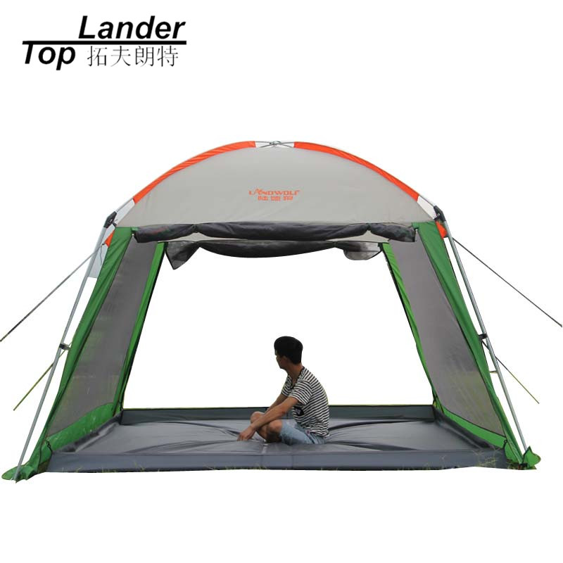 Outdoor Waterproof Sun Shelter Beach Gazebo Canopy Tent Multi people Party Picnic Camping Awing Gazebo for