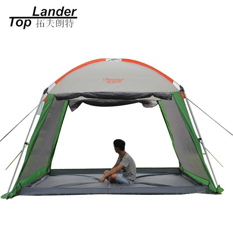 Outdoor Sun Shelter Canopy Tent Multi-people Waterproof  Anti UV Beach Picnic Camping Tarp Tent Sun Shelter пляж на самуи