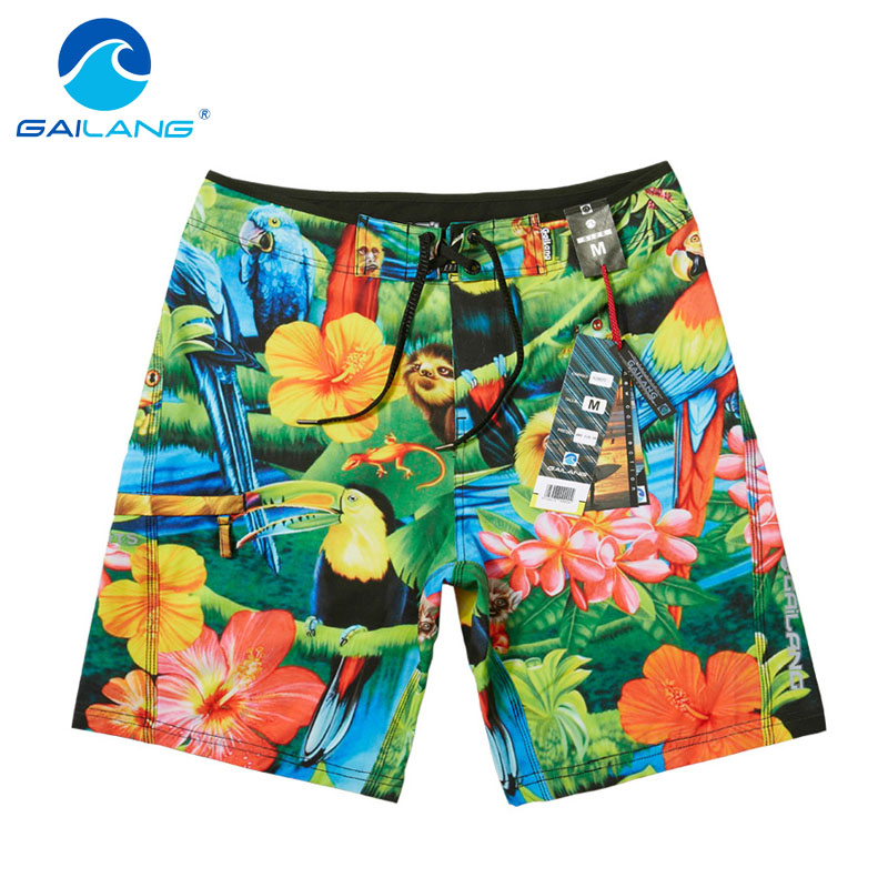 Gailang Brand Men Beach Shorts Board Man Trunks Boxer Gay Swimwear Swimsuits Shorts Bermuda Casual Active Sweatpants Boardshorts