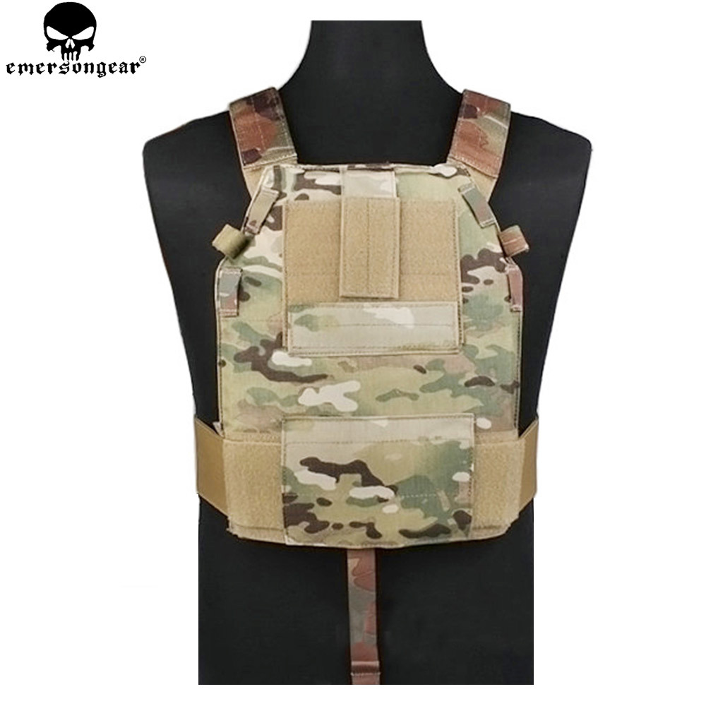 EMERSONGEAR LBT6094 Style SLICK Medium Plate Carrier Molle Protective Vest Hunting Armor Military Combat  Vest ATFG EM2982 emersongear lbt2649b hydration carrier for 1961ar molle backpack military tactical bags hunting bag multicam tropic arid black