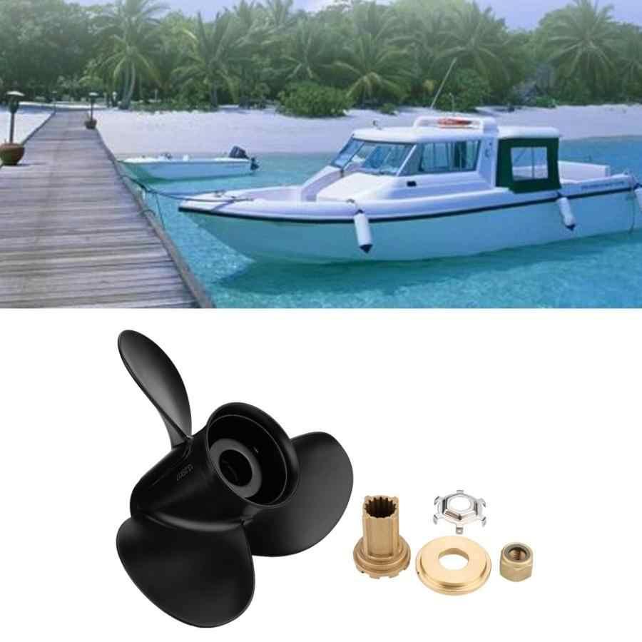 boat engine 13 1/4x17 3 Blades Aluminum Boat Propeller