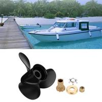 outboard motor 13 1/4x17 3 Blades Aluminum Boat Propeller Outboard Motor for Mercury 60 125PH 48 77344A45 fishing boats motors