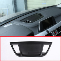 For BMW X1 F48 2016 2018 Aluminum Alloy Center Control Console Dashboard Speaker Cover Trim Accessories For BMW X2 F47 2018