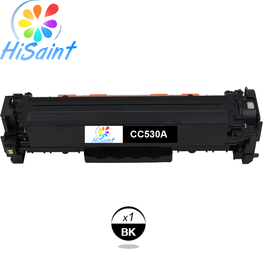 ФОТО Hisaint Listing Hot Sale Best Compatible Toner Cartridge Replacement for HP CC530A 304A Limited(Black, 1-Pack) Special counter