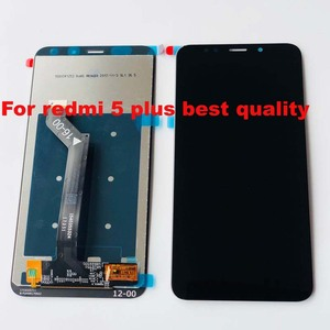 """Image 3 - Original New For 5.99"""" Xiaomi Redmi 5 Plus LCD Screen Display Touch Digitizer Frame For Redmi 5 Plus Lcd Display Touch Screen"""