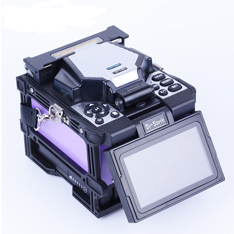 Temperate 6motors Optical Fiber Fusion Splicer G-t90 Fiber Optic Equipments