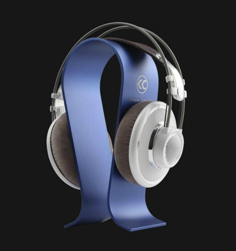 Aluminum Omega Shape Stand Bracket Headset Display Bracket for A K G Sennhei Grado Sony Denon