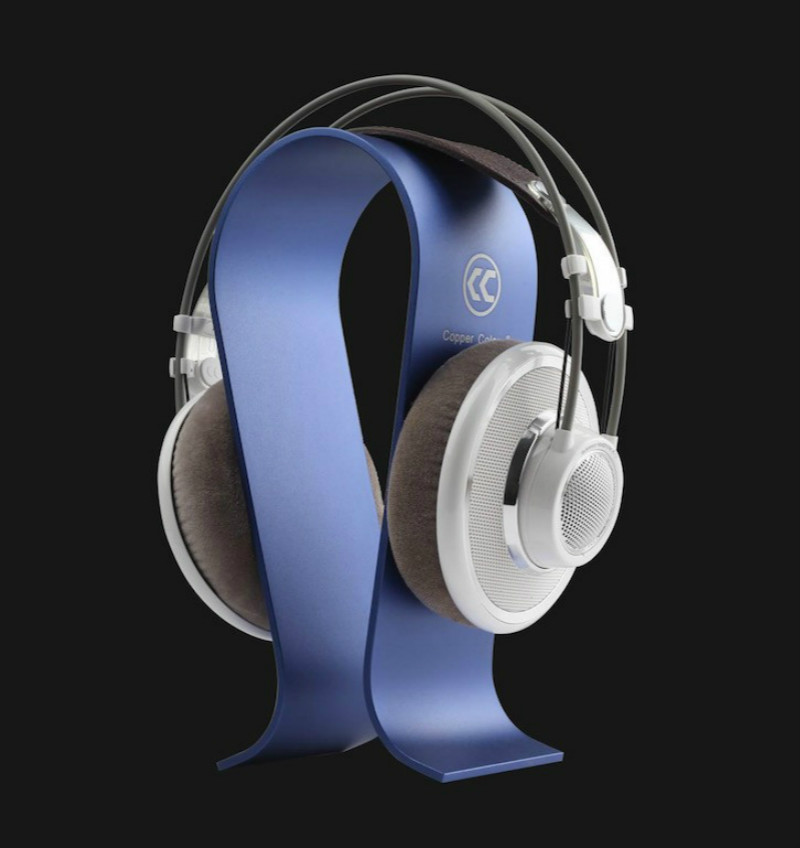 все цены на Aluminum Omega Shape Stand Bracket Headset Display Bracket for A K G Sennhei Grado Sony Denon Goethe etc large size headphones