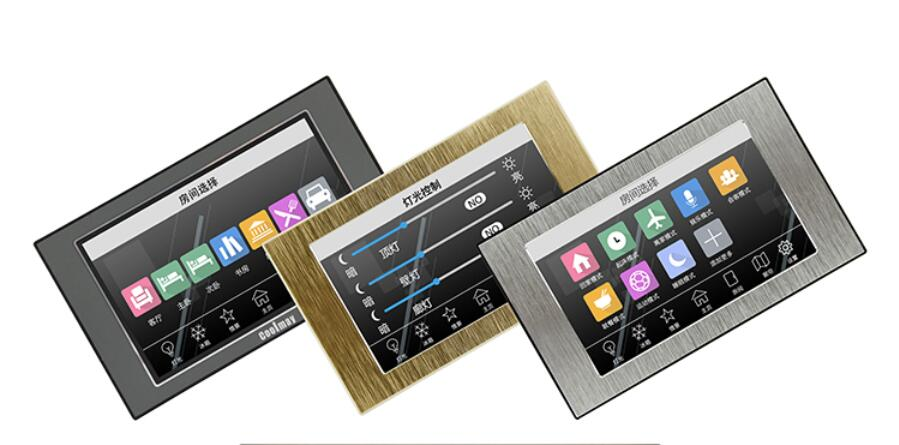 5 Touch Screen HMI Display Touchpad 800 480 True Color TFT Panel USB RS485 Modbus Etherne