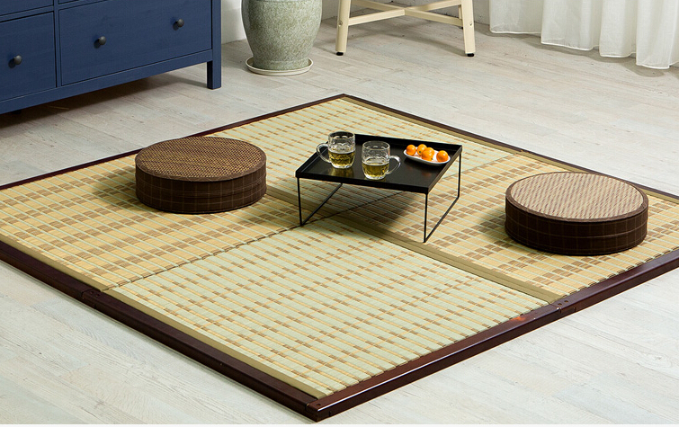 Japanische Bodenmatten tm08 diy japanischen tatami matte einheit platz 88 cm traditionellen