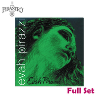 Pirastro Evah Pirazzi 419021 4 4 Violin String Set Medium Gauge Steel Ball End E Full