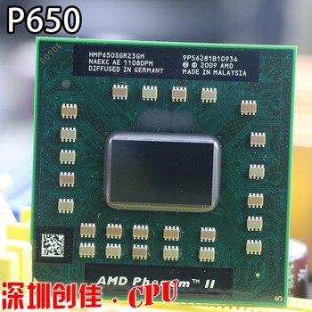 Original AMD Phenom P650 HMP650SGR23GM P650 CPU Dual core 2.60 GHz 2 mo L2 Cache Socket S1 (S1g4) PGA638