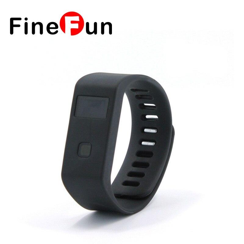 FineFun 2016 BL063 Smart Bracelet Bluetooth 4.0 Waterproof Pedometer Sleep Health Monitoring Wearable Bracelet For Android IOS