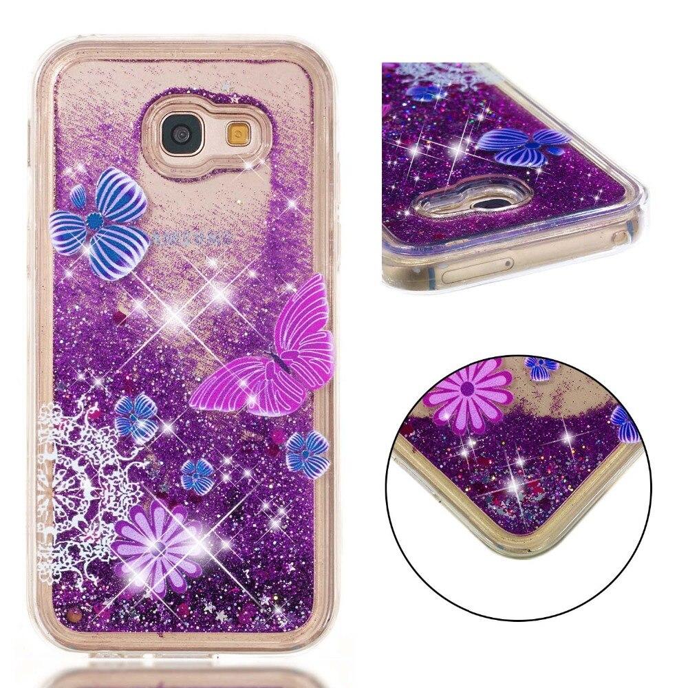 Half-wrapped Case C-ku Liquid Quicksand Glitter Soft Tpu Case For Samsung Galaxy S8 Plus S7 S6 Edge J3 J5 J7 2017 A3 A5 Note8 Rainbow Skin 50pcs Cellphones & Telecommunications
