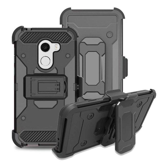 wholesale dealer de81f 55985 US $9.99 |For T Mobile REVVL Case / Alcatel A30 Fierce (2017) / Alcatel A30  Plus / Alcatel Walters Cover Heavy Duty Belt Clip Holster Skin-in Holsters  ...
