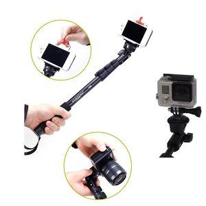 Image 3 - Yunteng 188 Selfie bâton monopode pour caméra téléphone Monopd gopro Hero3 +/3/2/1 noir