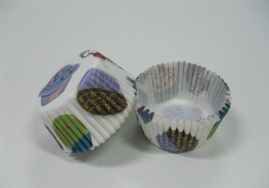 3inch 1000pcs/lot deilicous cake party time cupcake liners baking paper cup muffin cases for wedding/festival party Decoration